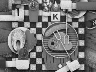 black-and-white-illustration-kunzi-lotusgrill-bristol-artist